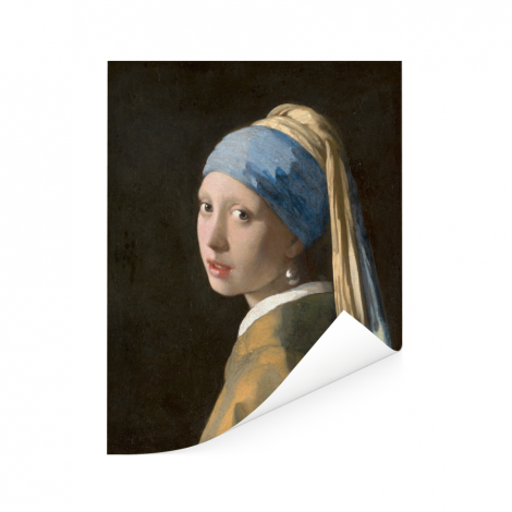 Meisje met de Parel - Schilderij van Johannes Vermeer Poster