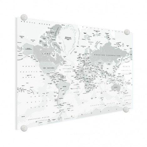 Realistisch - grijstinten plexiglas