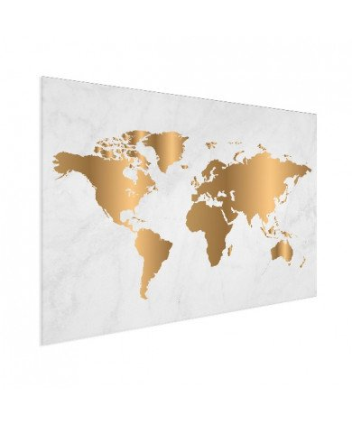 Goud marmer aluminium