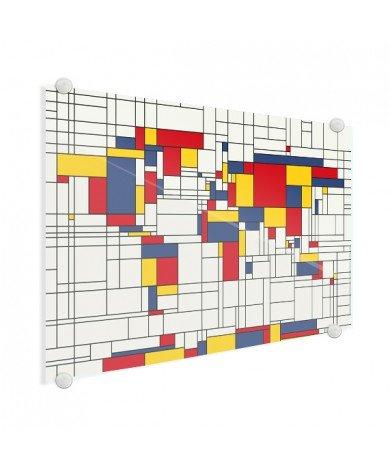Mondriaan origineel plexiglas