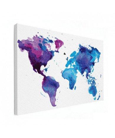 Aquarel verf canvas