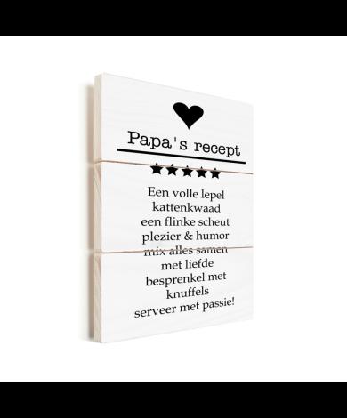Vaderdag - Papa's recept Vurenhout