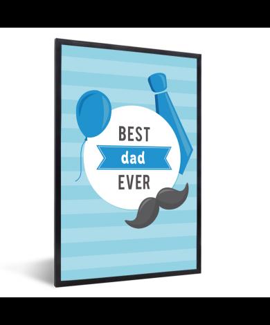 Vaderdag - Best dad ever Fotolijst