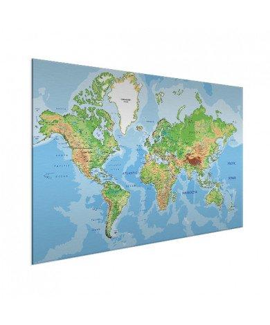 Geografisch aluminium
