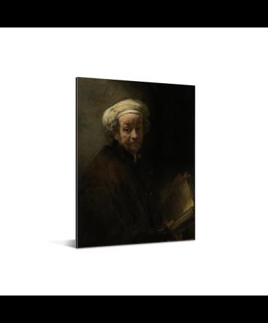 Zelfportret als de apostel Paulus - Schilderij van Rembrandt van Rijn Aluminium