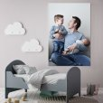 foto op karton slaapkamer