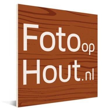 Logo op hout afdrukken