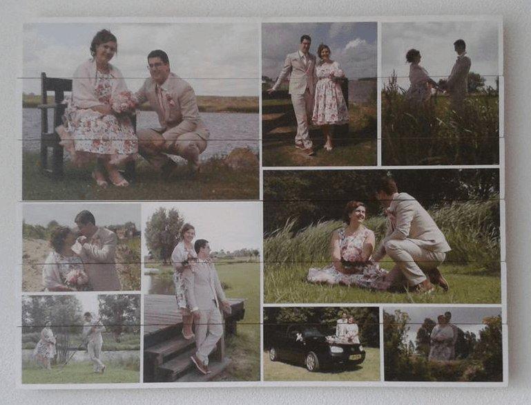Uitzonderlijk Collage op hout - bekijk onze voorbeelden! | FotoOpHout.nl #TP36