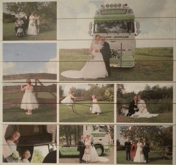 Collage op hout - bekijk onze voorbeelden! : FotoOpHout.nl