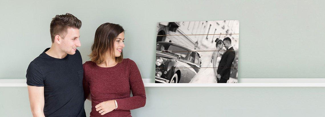 fotografen fotoshoot op hout